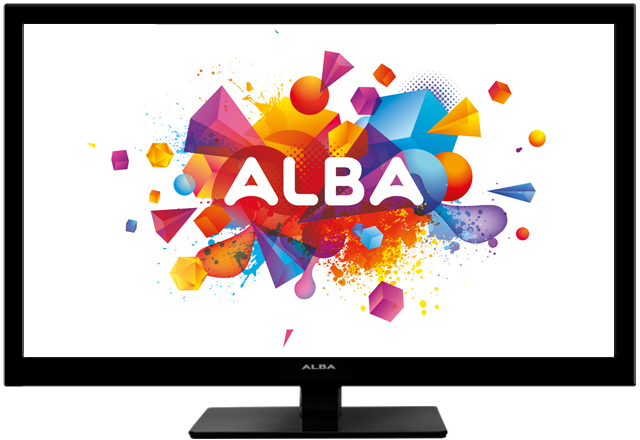 ALBA 24 inch Full HD 1080p LED TV/DVD COMBI — 3466108