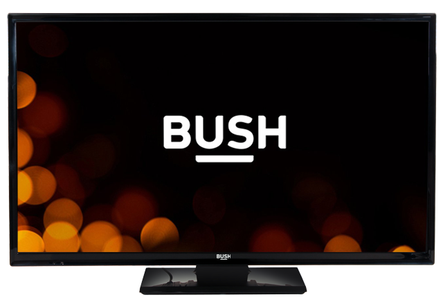 BUSH 32 Inch HD DVD Combi LED TV Black — 5654695